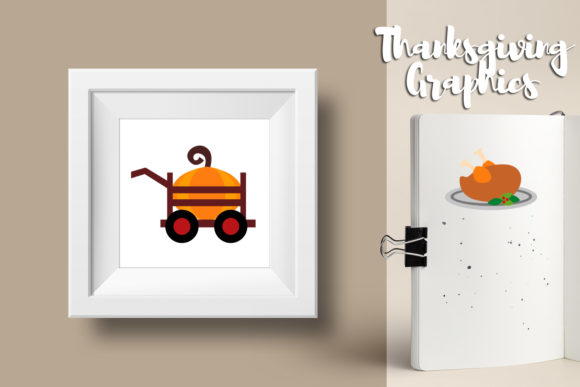 Download Free Thanksgiving Bundle Graphic By Revidevi Creative Fabrica for Cricut Explore, Silhouette and other cutting machines.