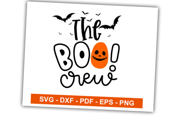 Print on Demand: The Boo Crew Graphic Crafts By svgbundle.net