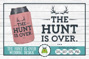 The Hunt is over Graphic By funkyfrogcreativedesigns