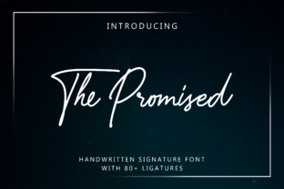 Print on Demand: The Promised Script & Handwritten Font By Moonstone Co