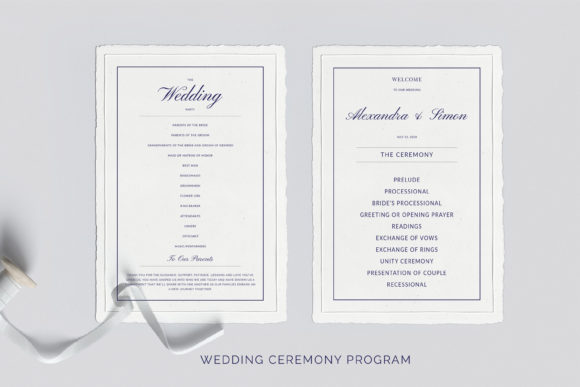 Print on Demand: This is an Invitation Wedding Template Suite. Graphic Print Templates By Primafox Design - Image 6