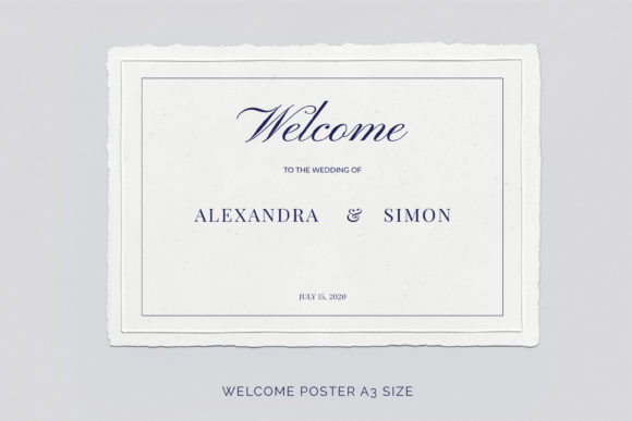 Print on Demand: This is an Invitation Wedding Template Suite. Graphic Print Templates By Primafox Design - Image 7