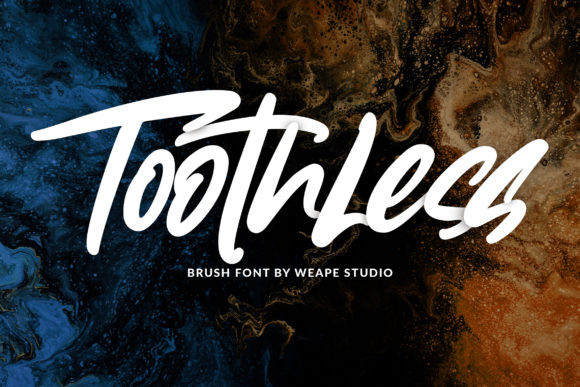 Toothless Font By Weape Design Image 1