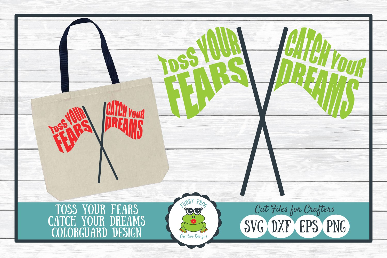 Download Free Toss Your Fears Catch Your Dreams Graphic By for Cricut Explore, Silhouette and other cutting machines.