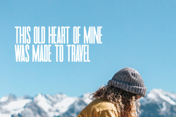 Travel Font By Salt & Pepper Designs Image 3