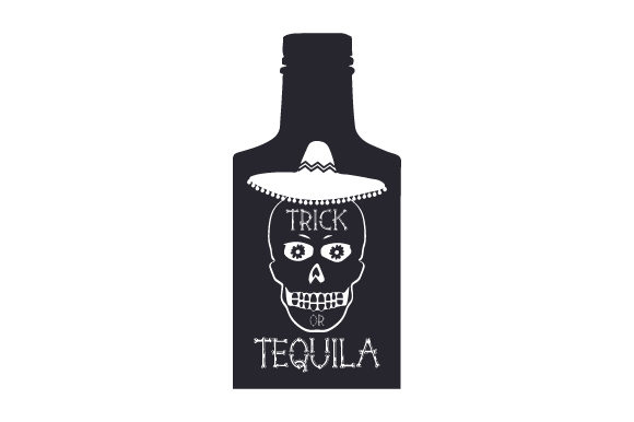 Download Free Trick Or Tequila Svg Cut File By Creative Fabrica Crafts for Cricut Explore, Silhouette and other cutting machines.