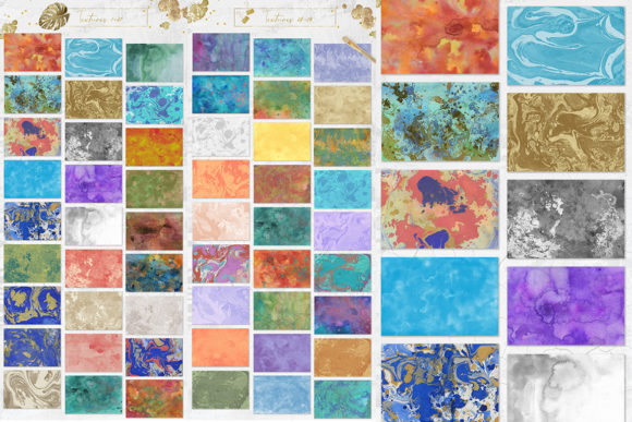 Tropical Watercolor Set Graphic Backgrounds By NassyArt - Image 7