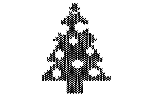 Download Free Ugly Sweater Christmass Tree Svg Cut File By Creative Fabrica for Cricut Explore, Silhouette and other cutting machines.