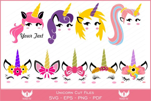 Download Free Unicorn Graphic By Skillfulart Creative Fabrica for Cricut Explore, Silhouette and other cutting machines.
