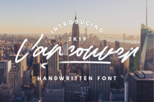 Vancouver Font By InspiraType