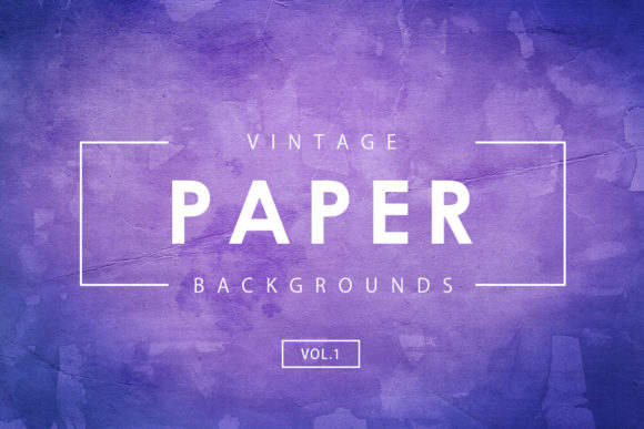 Vintage Paper Backgrounds 1 Graphic By ArtistMef Image 1