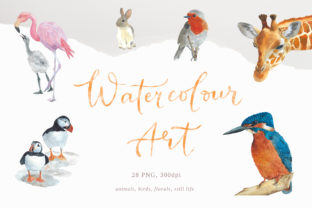 Watercolour Wall Art, 28 Png Graphic By Primafox Design