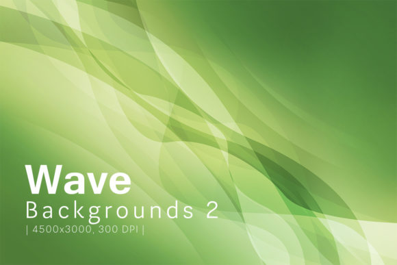 Print on Demand: Wave Backgrounds 2 Graphic Backgrounds By freezerondigital