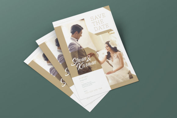 Download Free Wedding Invitation Ai And Psd Flyer Graphic By Alexacrib83 for Cricut Explore, Silhouette and other cutting machines.