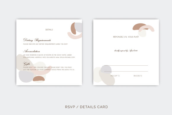 Wedding Template Suite, Graphic By Primafox Design Image 3