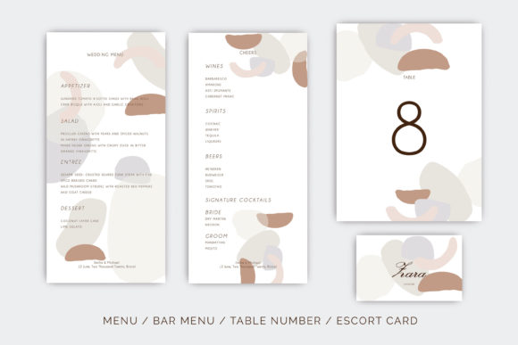 Wedding Template Suite, Graphic By Primafox Design Image 4