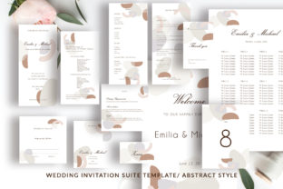Wedding Template Suite, Graphic By Primafox Design