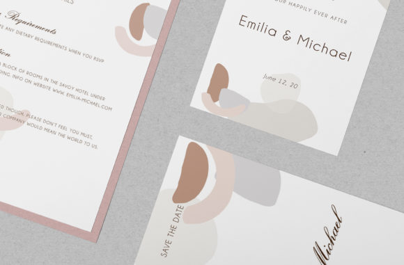 Wedding Template Suite, Graphic By Primafox Design Image 7