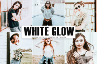 White Glow Lightroom Presets Pack Graphic By Creative Tacos