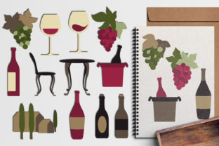 Wine Tasting Graphic By Revidevi