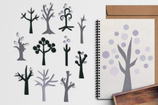 Winter Tree Graphic By Revidevi