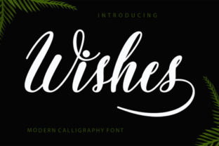 Wishes Font By Encolab
