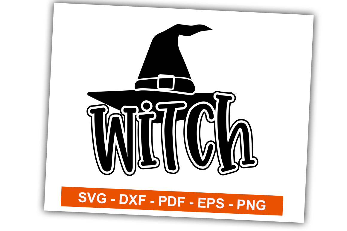 Download Free Witch Graphic By Svgbundle Net Creative Fabrica for Cricut Explore, Silhouette and other cutting machines.