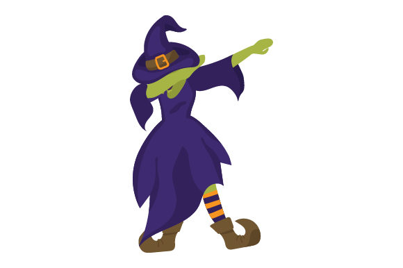 Download Free Witch Dabbing Svg Cut File By Creative Fabrica Crafts Creative for Cricut Explore, Silhouette and other cutting machines.