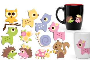 Woodland Animals Graphic By Revidevi