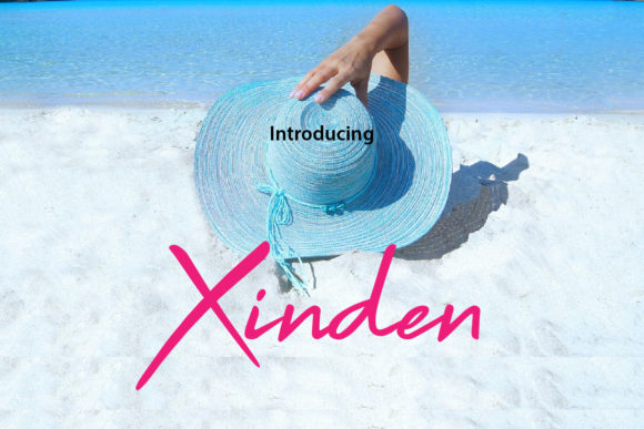 Print on Demand: Xinden Script & Handwritten Font By da_only_aan