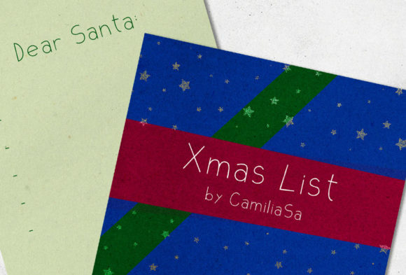 Xmas List Font By Inkclouddesign Image 3