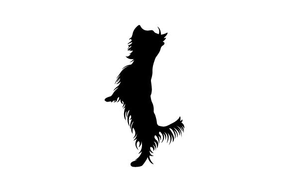 Yorkshire Terrier Jumping - Realistic Dogs Craft Cut File By Creative Fabrica Crafts - Image 2