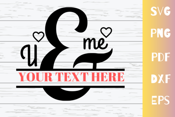 Print on Demand: You & Me Graphic Crafts By Mockup Venue