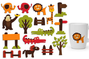 Zoo Animals Graphic By Revidevi