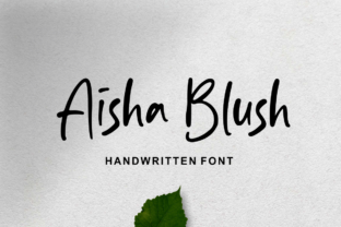 Aisha Blush Font By Sronstudio
