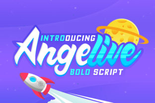 Angelive Font By Kruweks Studio