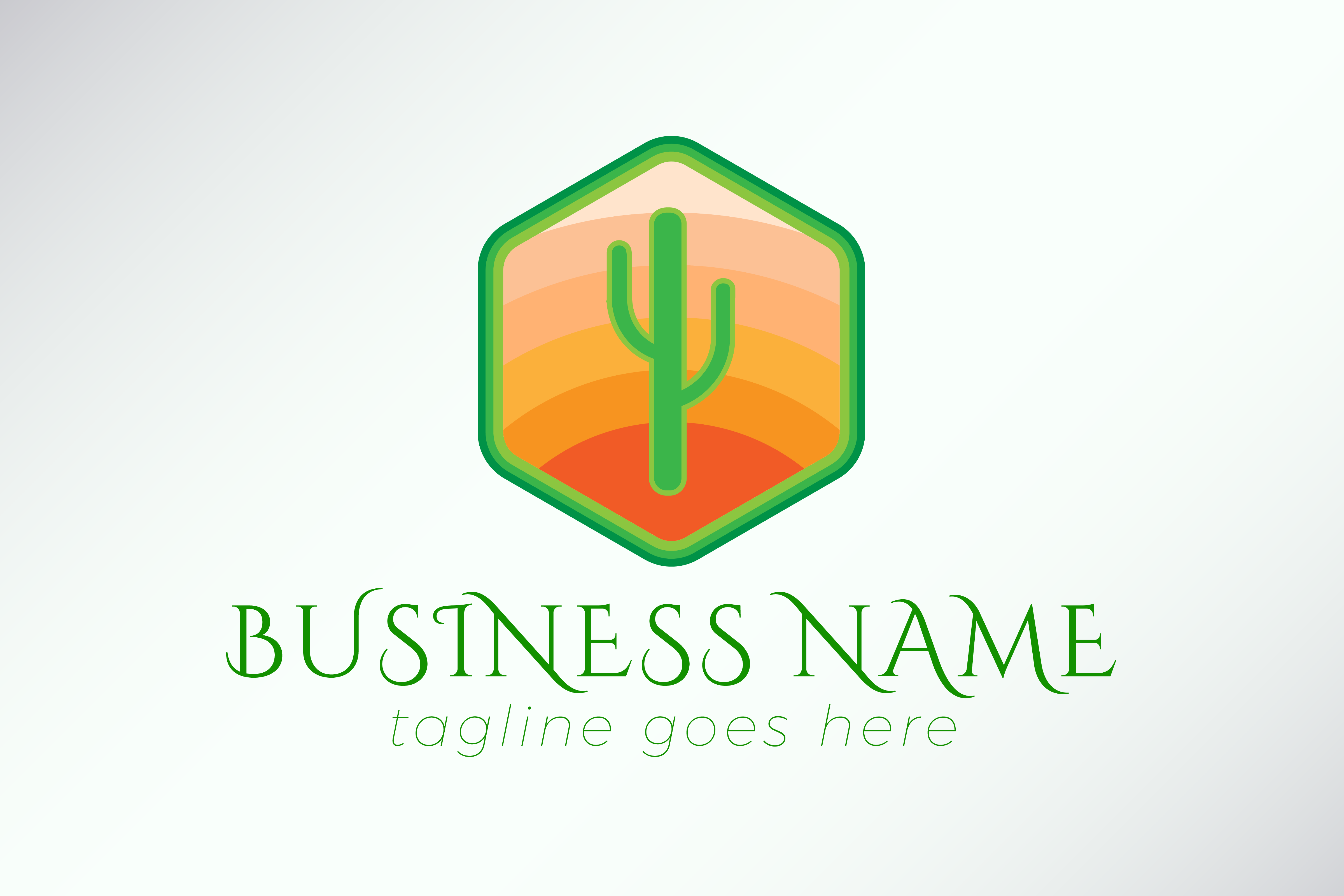 Download Free Cactus Logo Template For Business Graphic By Studioaneukmuda for Cricut Explore, Silhouette and other cutting machines.