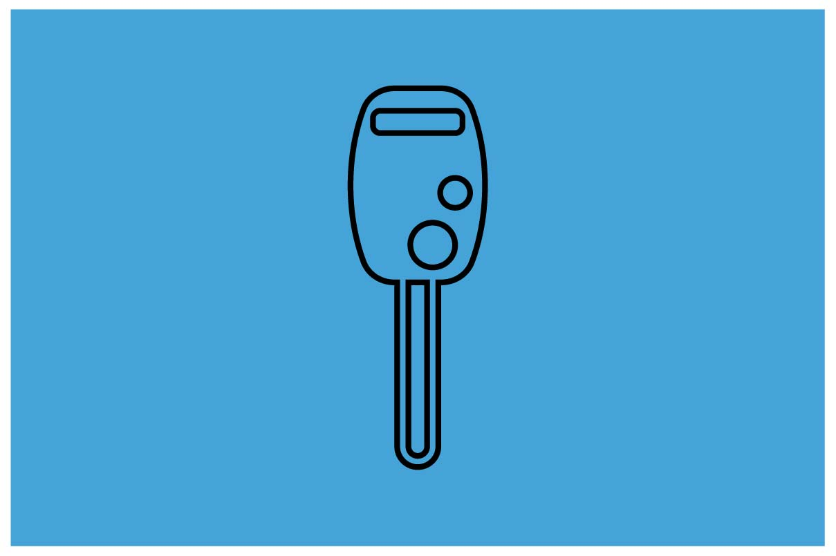 Download Free Car Key Icon In Line Style Vector Graphic By Hoeda80 for Cricut Explore, Silhouette and other cutting machines.