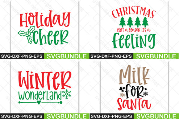 Download Free Christmas Bundle Graphic By Svgbundle Net Creative Fabrica for Cricut Explore, Silhouette and other cutting machines.
