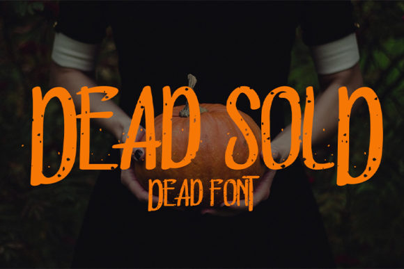 Print on Demand: Dead Sold Display Font By Nico Muslib
