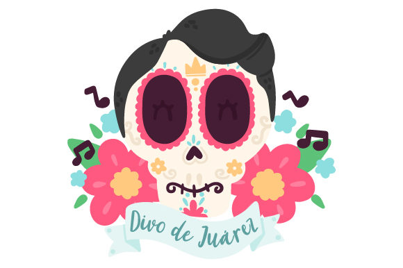 Download Free Juan Gabriel Skull Svg Cut File By Creative Fabrica Crafts for Cricut Explore, Silhouette and other cutting machines.