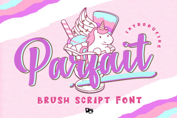 Print on Demand: Parfait Script & Handwritten Font By dmletter31