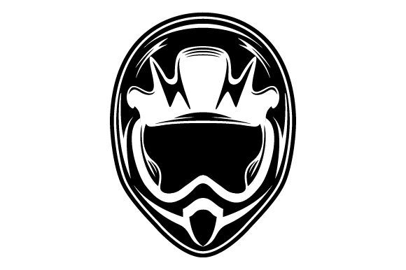 Download Free Racing Helmet Glyphicon Logo Design Graphic By Graphicrun123 for Cricut Explore, Silhouette and other cutting machines.