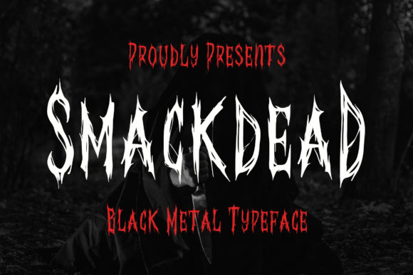 Print on Demand: Smackdead Blackletter Font By Bangkit Setiadi