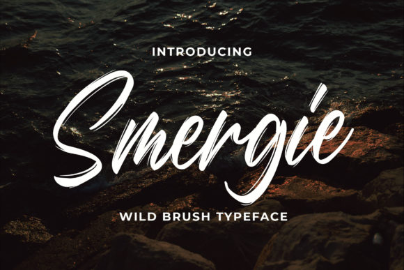 Print on Demand: Smergie Script & Handwritten Font By Bangkit Setiadi