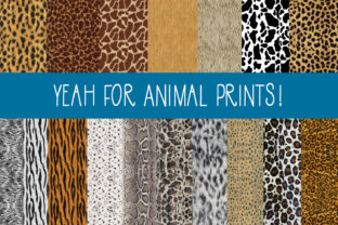 The Animal Print Papers Graphic By capeairforce