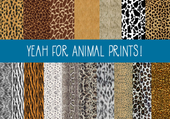 Print on Demand: The Animal Print Papers Graphic Patterns By capeairforce