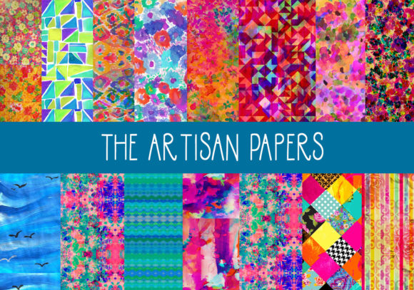 Print on Demand: The Artisan Papers Graphic Patterns By CapeAirForce