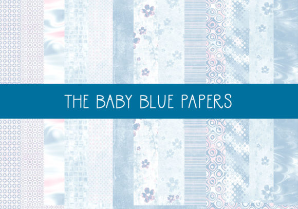 Print on Demand: The Baby Blue Papers Graphic Patterns By CapeAirForce
