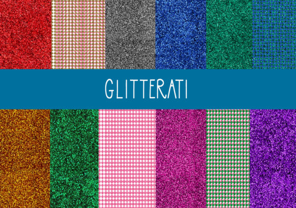 Print on Demand: The Glitterati Graphic Textures By capeairforce